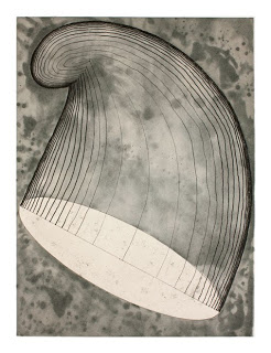 Martin Puryear, Phrygian, 2012 Color Aquatint Etching; Published by Paulson Bott Press