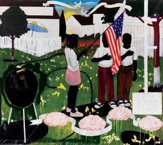 Kerry James Marshall, Bang, 1994