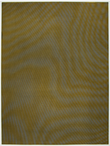 Mesh Moire III by Tauba Auerbach, 2012.