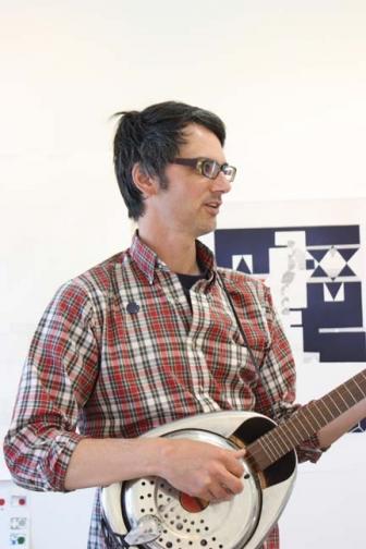 Shaun O'Dell at Paulson Bott Press.