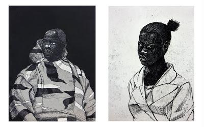 Kerry James Marshall, Untitled (Handsome Young Man, Woman), 2010