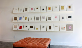 Mostly, 2012  A portfolio of 27 sugarlift aquatints and hardground etchings printed on linen.  Edition of 15